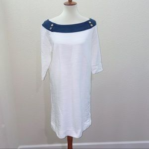 CLilly Pulitzer Cassie White Resort Dress Large